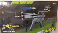 Electric Toy MP5 Machine Gun Electric plastic toy gun Submachine Gun Laser Point