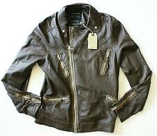 Allsaints men's leather Hilling biker jacket XL new with tags, retail $700