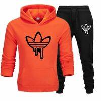 New Men's Hoodie Pullover + Pants Fashion Sweatshirt Sportswear Best Quality