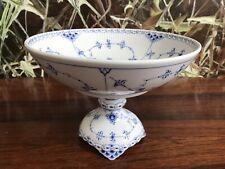 Kerzenhalter Royal Copenhagen Musselmalet Blue fluted candle stick