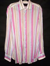 ETRO striped cotton shirt size 39 chest 43