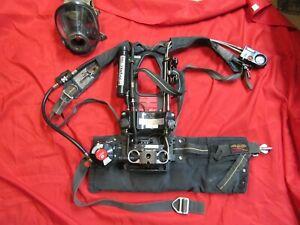 MFG 2007 Scott 4.5 NXG2 SCBA HUD CBRN REGULATOR MASK DESCENDER CROSBY H00K