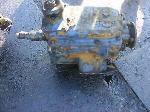 TURNER 5 SPEED NON O/D  GEARBOX (FROM A BEDFORD 500 ENGINE)