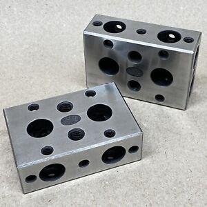MOORE TOOLS 123 BLOCKS fixtures gages - machinist tools inspection & measurement