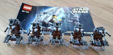 Lego Star Wars - 5 vintage Droidekas from vintage set 7203