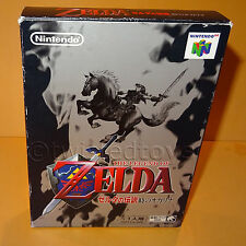 VINTAGE 1998 NINTENDO 64 N64 THE LEGEND OF ZELDA OCARINA OF TIME GAME BOXED