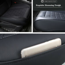 Durable PU Leather Breathable Cushion Pad For Car Front Seat Mat Protector Cover