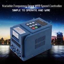 1.5KW AC380V 4A V/F Closed Loop VFD Contrôl Variateur de Fréquence Drive 3 Phase