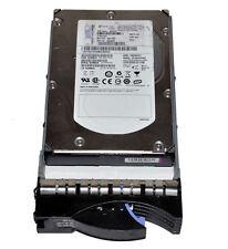 """IBM ST3300655SS 15K RPM 300GB 3.5"""" SAS Hard Drive With Tray FRU 43X0805"""