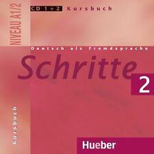 Schritte 2. 2 Audio-CDs zum Kursbuch Daniela Wagner, Sylvette Penning-Hiemst NEU