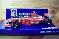 1/43 WILLIAMS 1998 LAUNCH VERSION JACQUES VILLENEUVE WINFIELD DECALS