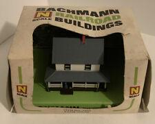 Vintage N Scale Bachmann Railroad Building 7202 Farm House