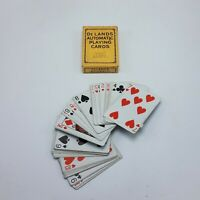"""Vintage DeLand'S Automatic Playing Cards, """"Marked Deck"""" Copyright 1913 52 +J"""
