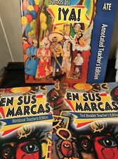 Somos Asi Ya! Annotated Teacher's Edition Plus Workbook & Test Booklet A lot