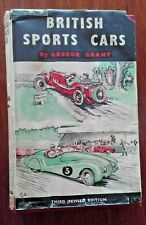 1950 BRITISH SPORTS CARS BOOK BY GREGORY GRANT - A RARE AND UNIQUE VINTAGE BOOK