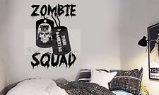 Zombie Gaming Wall Art Sticker/Decal