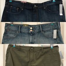 Lot of 3 Old Navy Shorts Womens Size 16 The Flirt Jean Shorts High Rise New