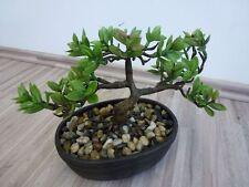 Bonsai Dekobaum Kunstbaum Kunstpflanze Dekopflanze H 21 cm getopft 172113-50 F52