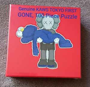 Brand New, Genuine KAWS TOKYO FIRST GONE Puzzle, 100 Pieces, SEALED.