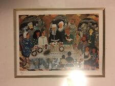 Judiac Hand Signed Lithograph, Ilan Hasson,limited edition
