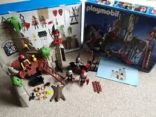 Playmobil Vintage 3274 Wolf Clan Knights  Castle Ruin, 100% Complete Boxed.