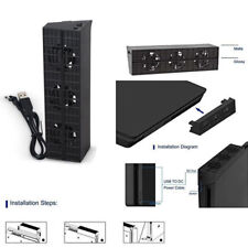 Cooling Fan Cooler Exhauster Temperature Control for Sony Playstation PS4 Slim
