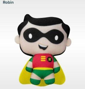 2021 McDonald's Plush ROBIN (from Batman) Super Heroes DC Comics