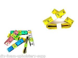 1.5mtr or 3mtr FLAT TAPE MEASURE TAILOR SEWING CLOTH SOFT BODY MEASURING RULER