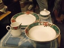 Gibson 5 piece Marble Holly Serving set, Fine China