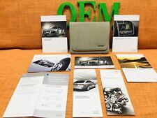 2012 AUDI R8 OWNERS MANUAL + RNS-E NAVIGATION MANUAL (RARE SET) CLEAN SET