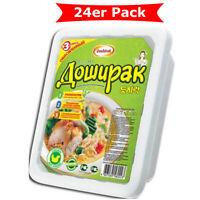 Doschirak instant Nudeln mit Huhngeschmack 24er Pack (24 x 90g)  Nudelgericht