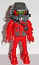 Playmobil 5526 - Robot de l'espace - Robot Rouge Yeux Verts - Scaphandrier