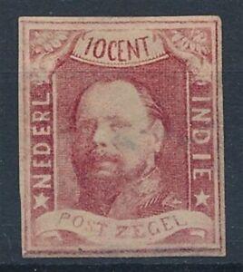 [8846] Nederland Indie 1864 good stamp very fine MH val $350. Signed