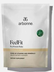 Arbonne Vanilla Pea Protein Powder 2lb Bag, Gluten Free, Vegan. Exp 5/23