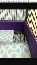 Ferret/Critter Nation Cage Poop Guards *Solid Black Fleece*
