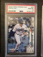 2020 Topps Opening Day Gavin Lux Rookie PSA 10 Los Angeles Dodgers RC QTY