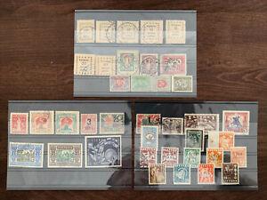 Litauen ab Anfangsmarken auf Steckkarten