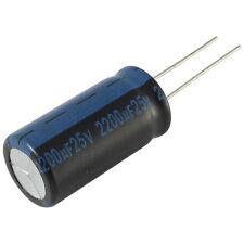 5 Elko Kondensator radial Jamicon TK 2200uF 25V 105°C 073383