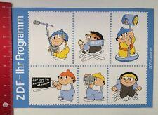Decal/Sticker: ZDF-your program Mainzelmännchen (110316194)
