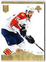 13-14 Dominion Eric Selleck /50 Rookie GOLD Panthers 2013