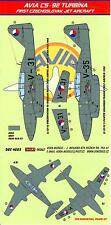 KORA Decals 1/48 AVIA S-92 TURBINA (Me-262) Czech Jet Fighter Part 3