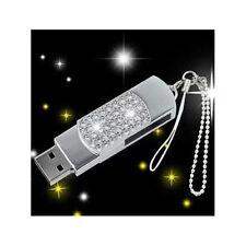 8Go USB 2.0 Clé USB Clef Mémoire Flash Data Stockage / Strass III