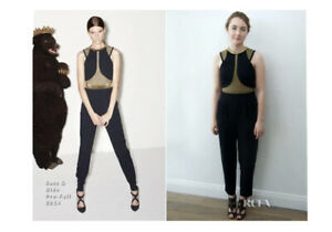Sass & Bide 'Criss Cross' Jumpsuit - Size 10