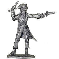 Captain Jack Sparrow. Tin toy soldiers. 54mm miniature metal sculpture