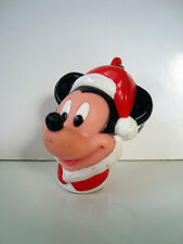 ANCIEN PORTE CLE KEYCHAIN MICKEY MOUSE NOEL