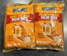 Genuine 20 PAIR HOT HANDS Hand Warmers EXP2023 - FAST FREE USA SHIP