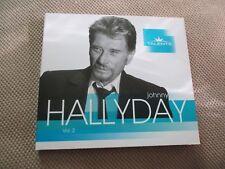 "CD DIGIPACK ""JOHNNY HALLYDAY - TALENTS, VOLUME 2"" 16 titres"