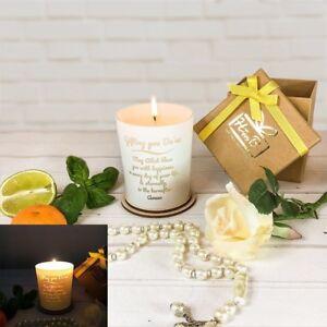 Halal Happy Box's Glow Through Candle - Islamic Gift Muslims (Luxury Gift Box)