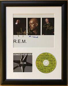 R.E.M / Signed Photo / Autograph / Framed / COA