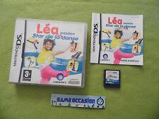 LEA PASSION STAR DE LA DANSE NINTENDO DS 3DS PAL COMPLET